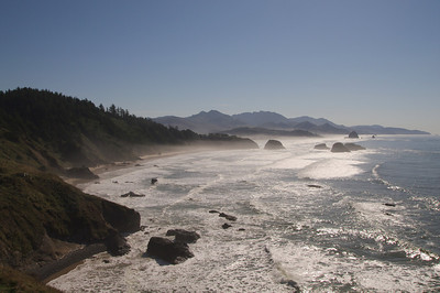 Canon Beach from Ecola Park