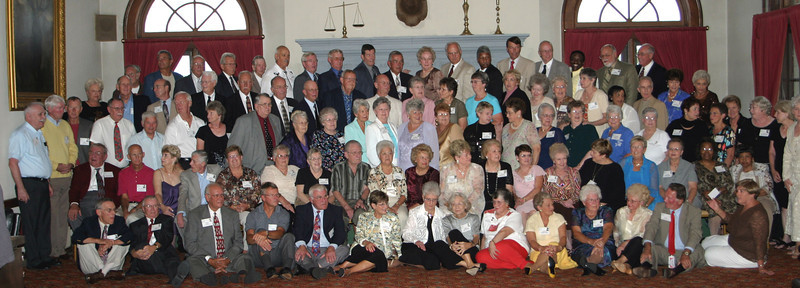 Fifty year gathering of East High grads from the Class of 1956