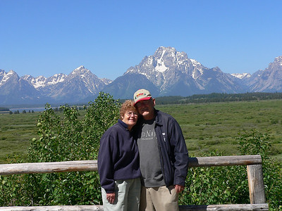John and Arlene joined us on a summer trip to Salt Lake City - via  SD & Grand Teton NP in 2005