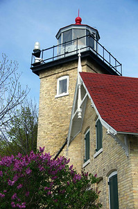 Built in 1868, automated in 1926. The Door County Historical Society has restored this structure in Peninsula State Park and turned it into a living museum. Tours are operated daily through the third weekend in October. A state park sticker is required.